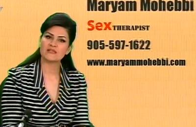 مریم محبی سکسولوزیست
